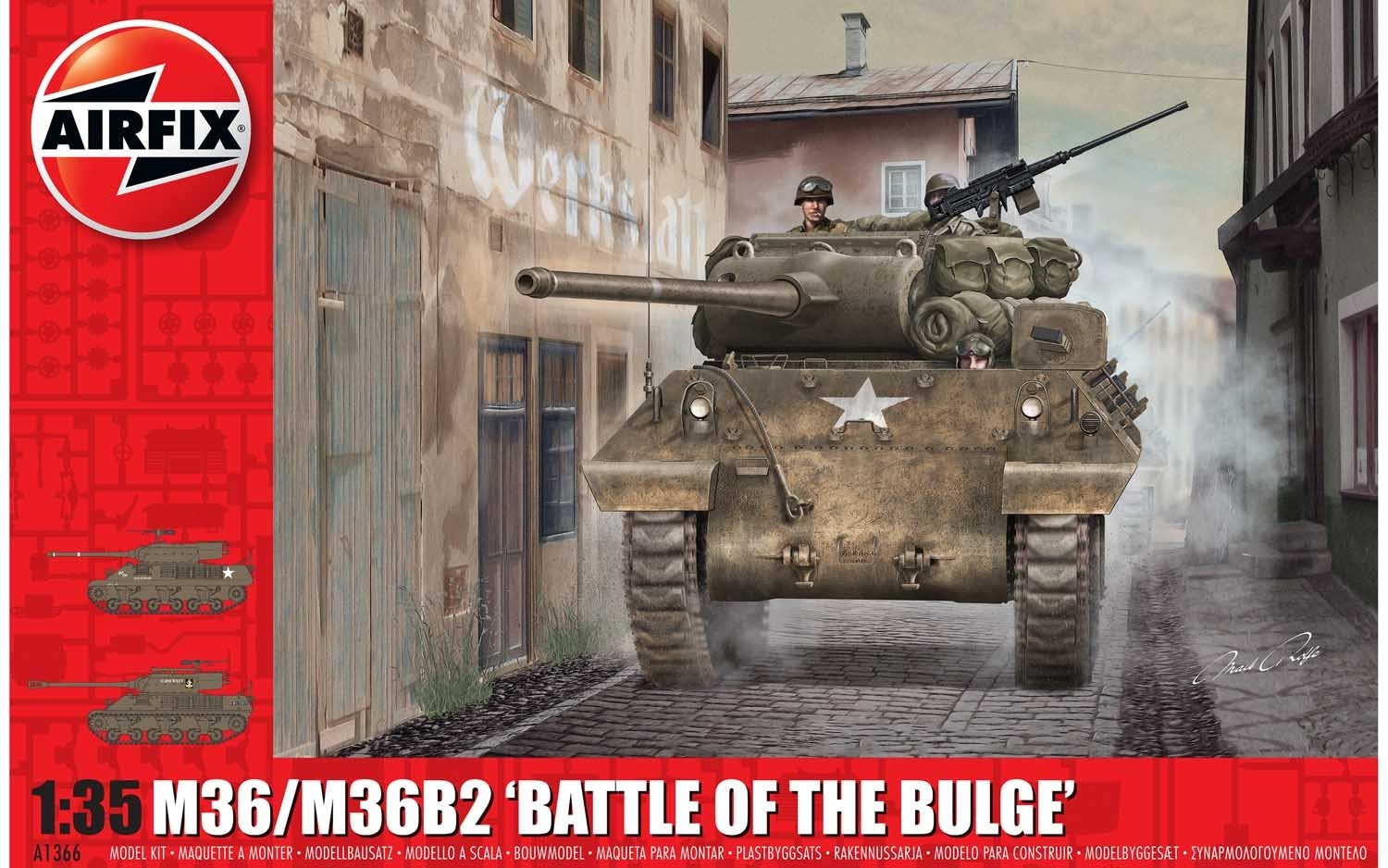 M36/M36B2, Battle of the Bulge