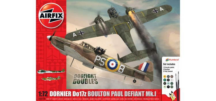Boulton Paul Defiant Mk.1 Dornier Do17z Dogfight Doubles