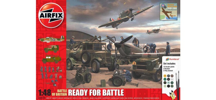 Battle of Britain Ready for Battle Gift Set