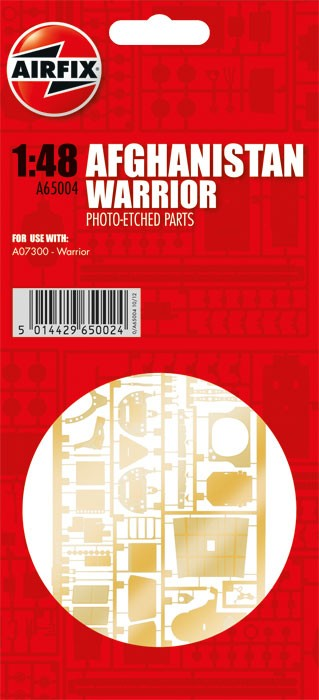 Warrior Photo-etch Parts