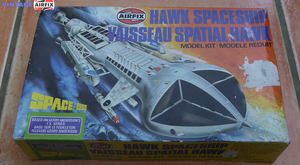 Hawk Spaceship (Space 1999)